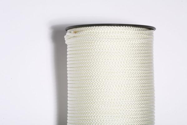 Pflasterschnur 4 mm weiß, Mindestabnahme 3 Stück