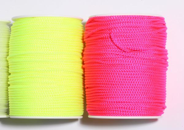 Pflasterschnur 3 mm neon-farben, Mindestabnahme 5 Stück