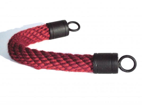 Farbiges Handlaufseil mit geschmiedeten Beschlägen für aussen oder innen