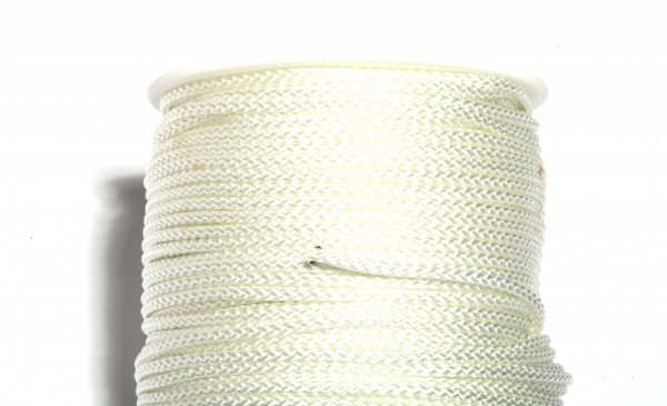 Pflasterschnur 3 mm weiß, Mindestabnahme 5 Stück
