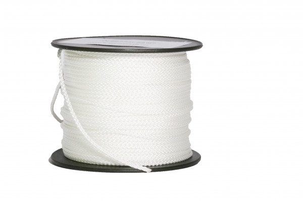 Richtschnur 2 mm weiß, Sonder-PA Mindestabnahme 10 Stück